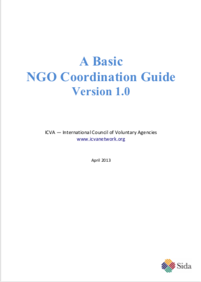 A Basic NGO Coordination Guide