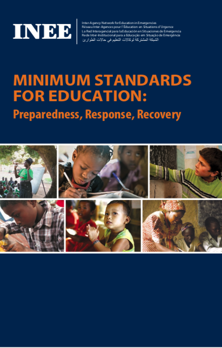 Minimum Standards for Education: Preparedness, Response, Recovery