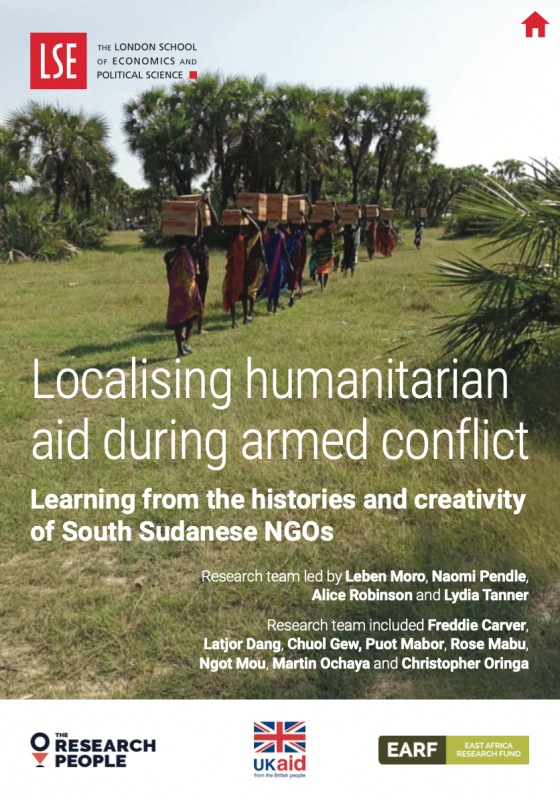 Localising Humanitarian Aid During Armed Conflict